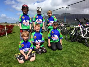 Young Group Of Riders
