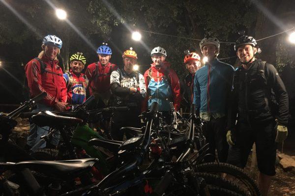 British Cycling Night Leader