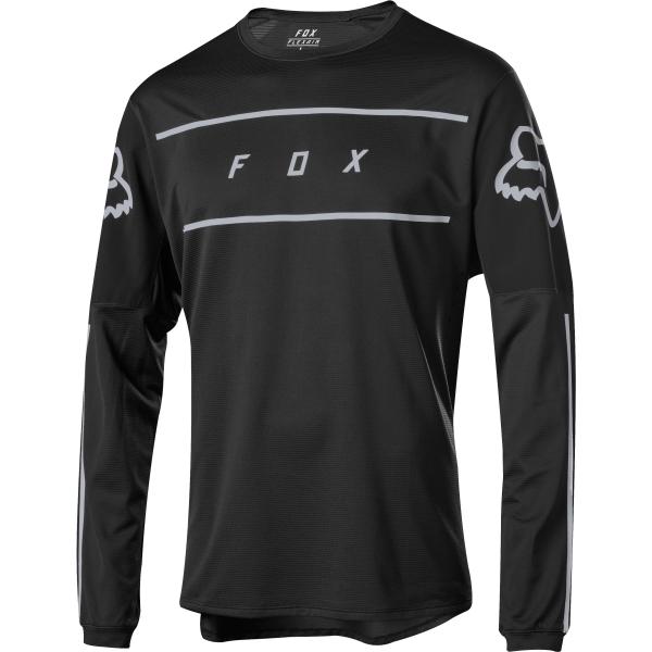 Fox Flexair Fine Line Jersey - Black