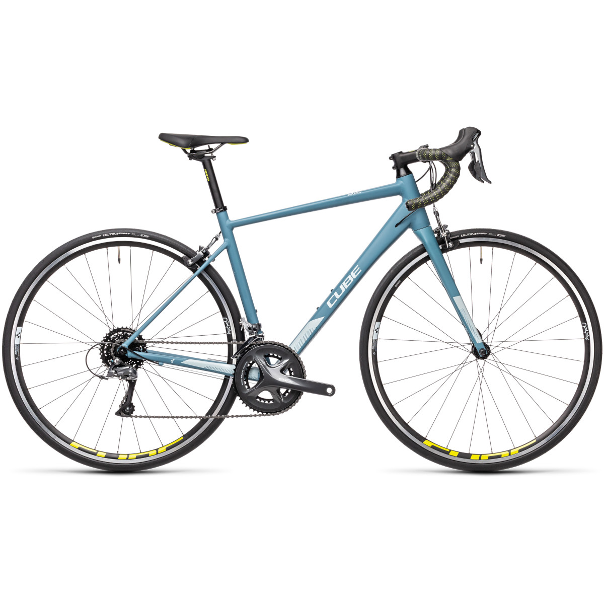 Cube Axial WS Greyblue/Lime 2021